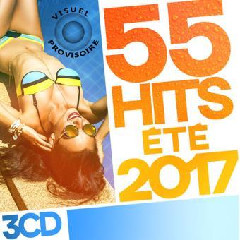 55 Hits Eté 2017 Coffret