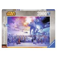 Puzzle 2000p Saga Star Wars Ravensburger