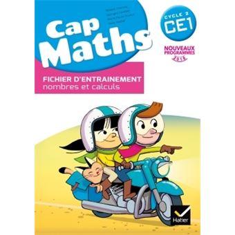 Cap Maths CE1 éd. 2016 - Fichier d'entrainement + Cahier ...