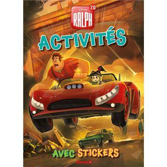 Ralph 2.0Activités avec stickers