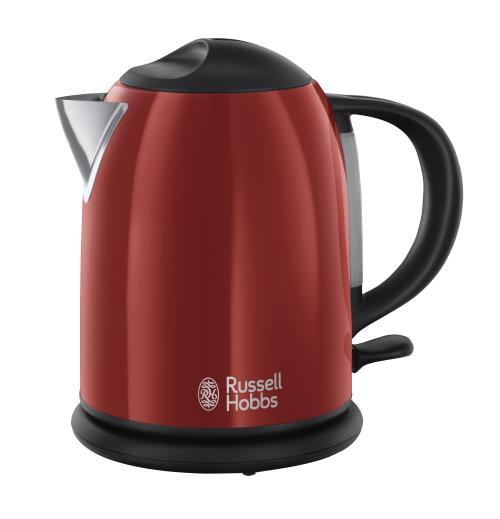 Bouilloire compacte Russell Hobbs Colours 20191-70 1 L Rouge flamboyant