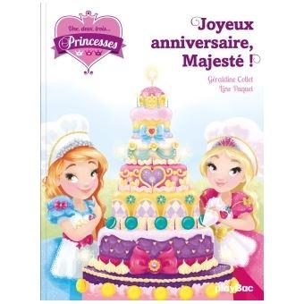 une deux trois princessesune deux trois - Joyeux Anniversaire 8 Ans