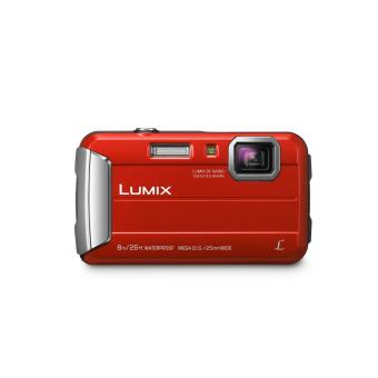 Compact Panasonic Lumix DMC-FT30 Rouge