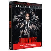 John Wick 2 Edition spéciale Fnac Steelbook Blu-ray