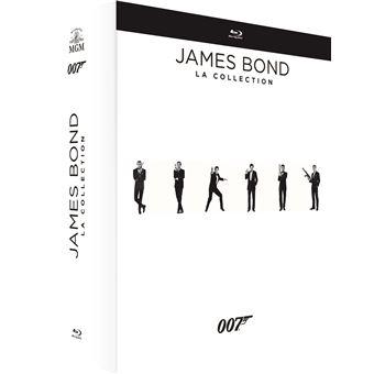 James BondCoffret James Bond 007 L'Intégrale 24 Films Blu-ray