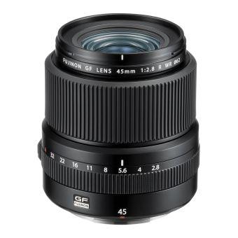 Objectif Fujifilm GF 45 mm F2.8 R WR Noir