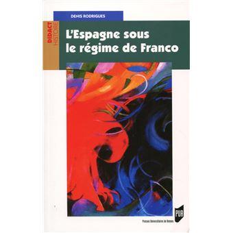 L'Espagne sous le régime de Franco
