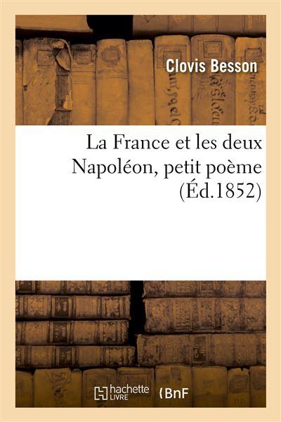 La France et les deux Napoléon, petit poème