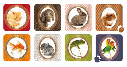 Lovely Puzzles Animaux Janod