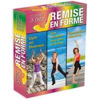 Coffret Remise en forme : Gym en douceur, Une semaine pour être en forme, Gymnastique débutants Coffret DVD