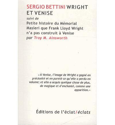 Wright et venise