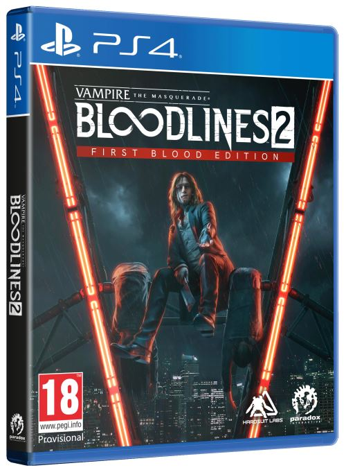 Vampire The Masquerade Bloodlines 2 First Blood Edition PS4