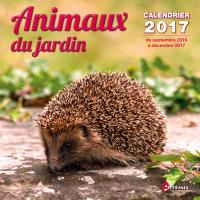 Calendrier Animaux.Calendrier Animaux Du Jardin 2017