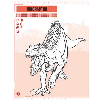 Coloriage Magique Jurassic World.Jurassic World Fallen Kingdom Le Livre De Coloriages Collectif