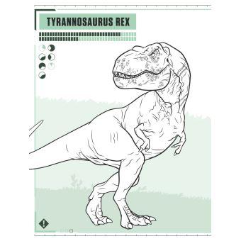 Jurassic World Fallen Kingdom Le Livre De Coloriages