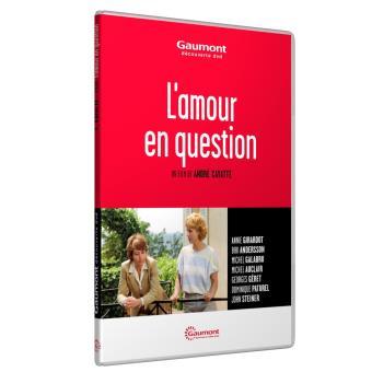 L'amour en question DVD