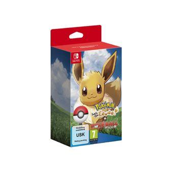 Nintendo Switch Pokémon Let's go Eevee + Poké Ball Plus NL/FR