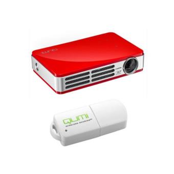 Vivitek Qumi Q5 Pico LED 3D DLP-Videoprojector Red + Vivitek Dongle Wifi USB Qumi