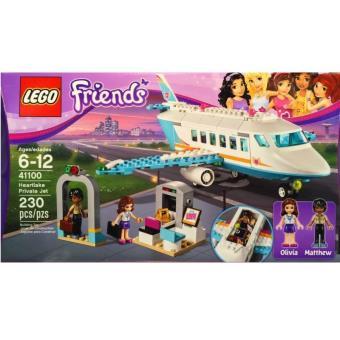lego friends 41100 l 39 avion priv de heartlake city lego achat prix fnac. Black Bedroom Furniture Sets. Home Design Ideas