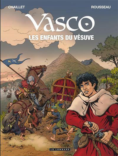 Vasco - Tome 25 : Les enfants du Vésuve