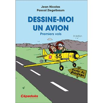 Dessine-moi un avion. Premiers vols 2e édition - Jean Nicolas,Pascal Ziegelbaum