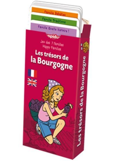 Jeu des 7 familles : Les trésors de la Bourgogne