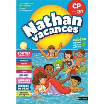 Cahier de Vacances Primaire CP vers CE1 6/7 ans