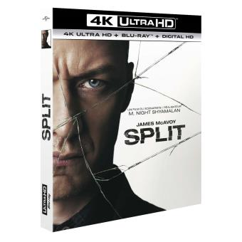 Split Blu-ray 4K Ultra HD