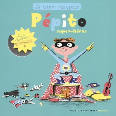 Pepito Super Heros Livre Cd Livre Avec Un Cd Audio Livre Cd Yann Walcker Achat Livre Fnac