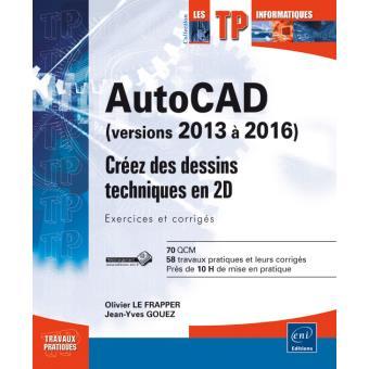 AutoCAD, versions 2013 à 2016