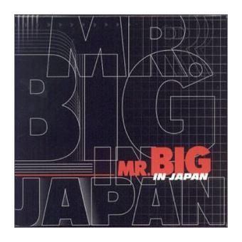 Mr big in japan/ed limitee
