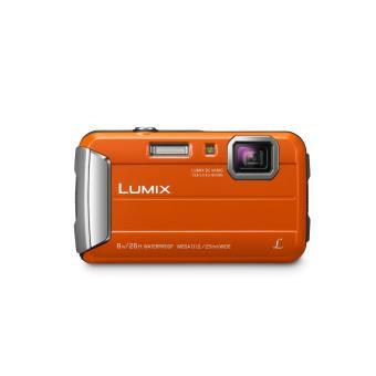 Compactcamera Panasonic Lumix DMC-FT30 oranje