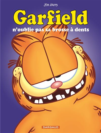 Garfield n'oublie pas sa brosse à dent