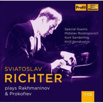 PLAYS RACHMANINOV   PROKOFIEV