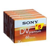 Sony DVM 60PR Premium - Mini DV - 5 x 60min