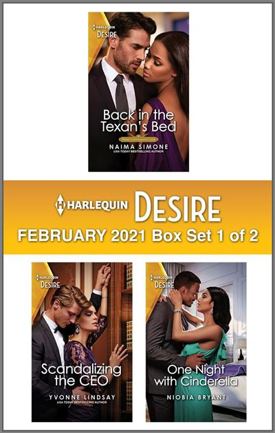 Harlequin Desire February 2021 - Box Set 1 of 2