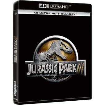 Jurassic ParkJurassic Park III Blu-ray 4K Ultra HD