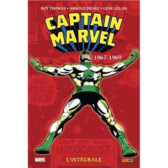 Captain MarvelCaptain marvel integrale,01:1967-1969