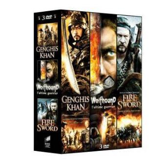 Genghis Khan - Wolfhound, l'ultime guerrier - Fire and Sword Coffret 3 DVD