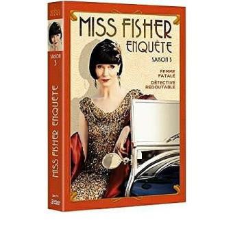 Miss Fisher enquêteMiss Fisher enquête Saison 3 DVD