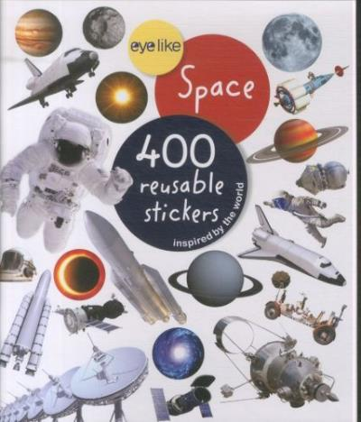 Eyelike stickers, space
