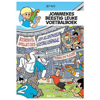 Jommekes beestig leuke voetbalboek
