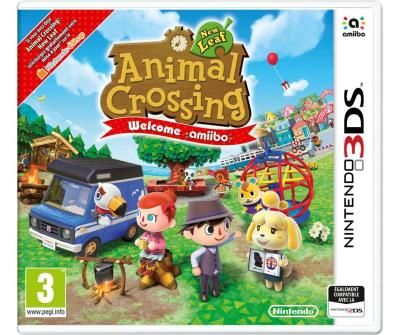 Animal Crossing New Leaf 3DS Welcome Amiibo + 1 carte Amiibo