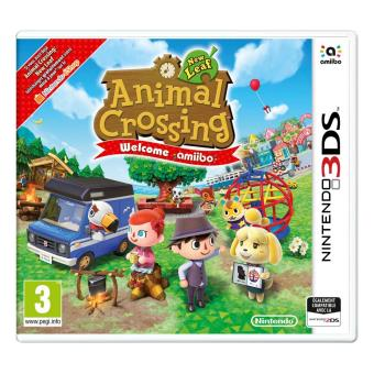 Animal Crossing New Leaf 3DS Welcome Amiibo 1 Carte