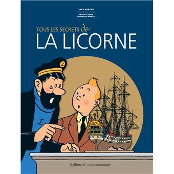 Coloriage Bateau La Licorne Tintin.Tintin Tous Les Secrets De La Licorne Jacques Hiron Yves