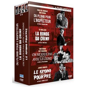 Coffret Films noirs Volume 2 DVD