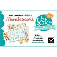 Le loto Montessori des nombres de 1 à 10