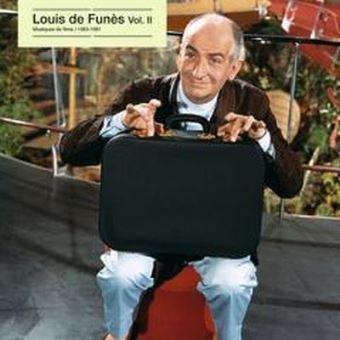 Louis de Funès Musiques de films Volume 2 1963-1981