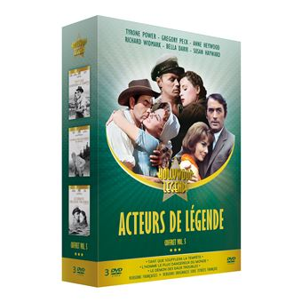 ACTEURS DE LEGENDE VOL5-3DVD-FR