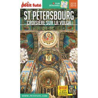 Saint-petersbourg croisiere sur la volga + plan de ville